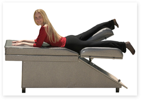 Waist-Tummy-Hip Toning Table